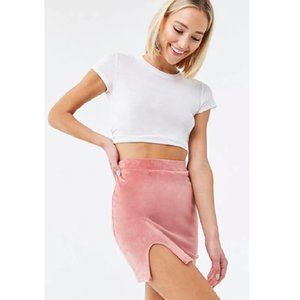 Brand New Forever 21 | Faux Suede Mini Skirt